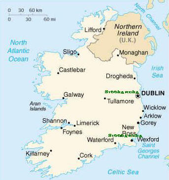 outline map of ireland with counties. outline map of ireland